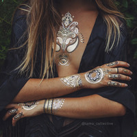 IAMU Mimi Henna Flash Tattoos