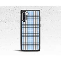 Blue Plaid Phone Case for Samsung Galaxy S & Note