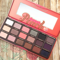 Hot sell 18 colors Sweet Peach Eyeshadow Palette Cosmetic new for faced Makeup Eye Shadow 1PCS