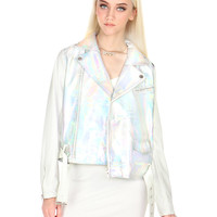 SPACED OUT MOTO JACKET