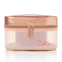 Zoella Beauty Rose Gold Vanity Case - feelunique.com