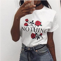 Fashion Letters Printed T-Shirt