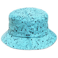 Dripp Bucket Hat in Aqua