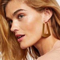 Free People Flat Record Hoops