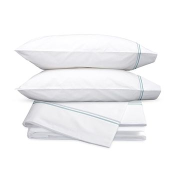 Essex Pool Embroidered Hotel Sheet Set by Matouk