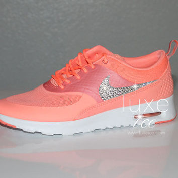 Atomic Pink Nike Air Max Thea Nike Air Max Thea Premium w/Swarovski from Luxe Ice | Luxe Ice