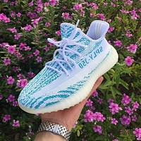 Adidas Yeeezy 350 V2 boots breathable coconut shoes men and women casual sports shoes running shoes-3