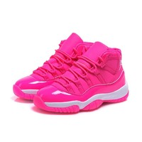 Air Jordan 11 Retro GS Pink/White AJ11 Sneakers - Best Deal Online
