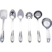 Maxam 6pc Stainless Steel Kitchen Tool Set