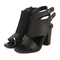 Double Ankle-strap Heels