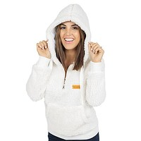Sherpa Cream - HOODIE - F19 - Simply Southern