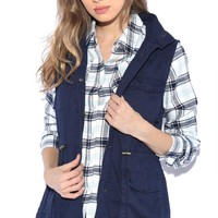 Hooded Utility Jacket Jackets GS-LOVE