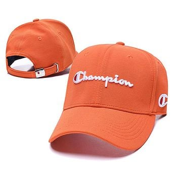 Champion Fashion Snapbacks Cap Women Men Sports Sun Hat Baseball Cap