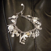 The Infernal Devices Inspired Charm Bracelet