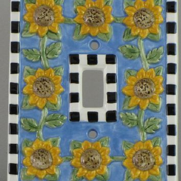 Mary Engelbreit Sunflower Switch Plate - 77012