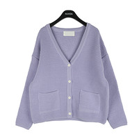 Double Pocket Knit Cardigan