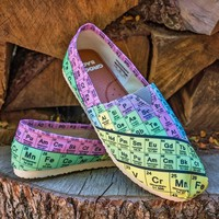 Periodic Table Casual Shoes