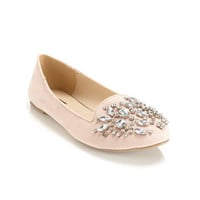 Lush Nude Crystal Slipper - View All  - Shoes