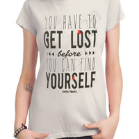 Paper Towns Find Yourself Girls T-Shirt