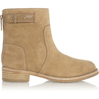 Tory Burch - Selena suede ankle boots