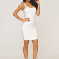 Shea Bandage Dress - White