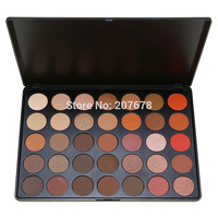 35 Color Eyeshadow Palette Silky Powder Professional Make up Pallete Product Cosmetics Smoky/Warm Color 35O#