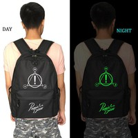 School Backpack Panic At The Disco school bag Starry sky backpack student school bag Notebook backpack Leisure Daily backpack AT_48_3