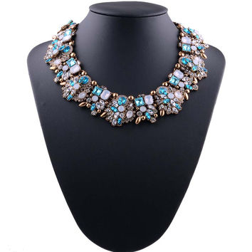 Jewelry Gift Stylish Shiny New Arrival Gemstone Necklace [10065688070]