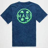 Maui And Sons Nuclear Cookie Boys T-Shirt Blue  In Sizes