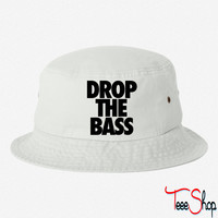 Drop The Bass bucket hat