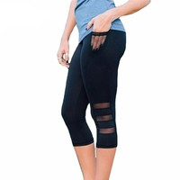 Women's Yoga Pants with Side Pockets