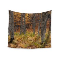 """Falling Love"" Forest Gypsy Wall Tapestry"