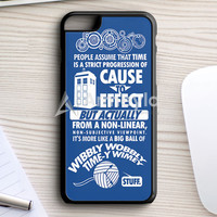 Doctor Who Meets Adventure Time ! iPhone 7 Plus Case | armeyla.com