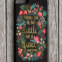 The Little Fierce On Charcoal iPhone 6 Case