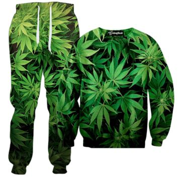 Weed Camo Tracksuit