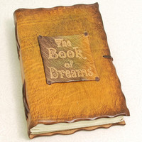 The Book Of Dreams Leather journal by GILDBookbinders on Etsy