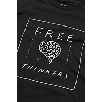 Free Thinkers Shirt Unisex Black