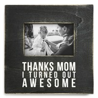 Primitives by Kathy 'Thanks Mom' Box Picture Frame (4x6)