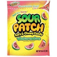 Sour Patch Soft And Chewy Candy - Watermelon - 30.04 Ounces