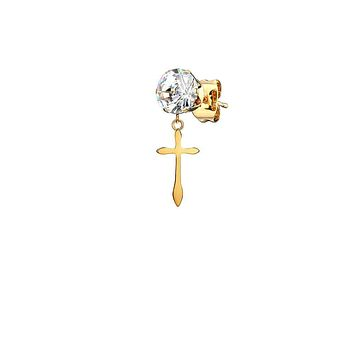 Mister Confession Stud Earring