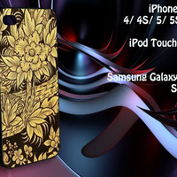 Thai Traditional Pattern iPhone 4/4S / 5/ 5s/ 5c case, iPod Touch 4 / 5 case, Samsung Galaxy S3/ S4 case