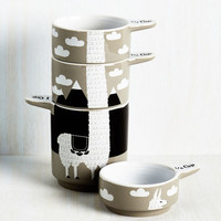 Alpaca a Punch Measuring Cups by ModCloth
