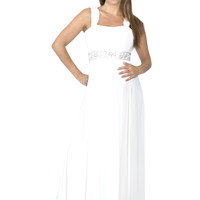 Long Maternity Wedding Dress - Dancing With Destiny