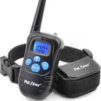 Petrainer 998DRB Remote Controlled Dog Training Collar System