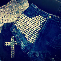 Studded Shorts (Made to Order) - Custom