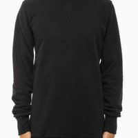 Stalio roundneck sweatshirt from F/W2014-15 Silent Damir Doma collection in vintage black.