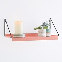 Metal Shelf in Coral - Urban Outfitters