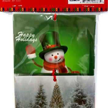 xmas gift card holder - 2 pack Case of 48