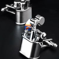 Vintage Chrome Lighter Cufflinks