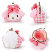 Cute Hello Kitty Cat My Melody Big Ears Cinnamoroll Dog Pudding Dog Plush Backpack Animals Small Plush Bag Children Girls Gifts